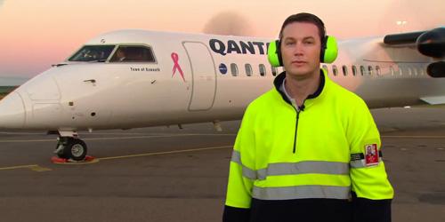 Odd jobs for Qantas